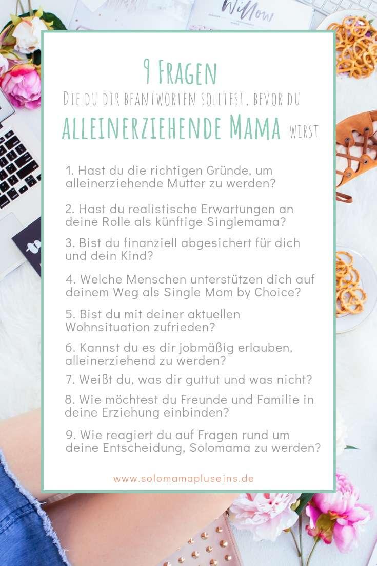 Diese 9 Fragen solltest du dir beantworten, bevor du alleinerziehende Mutter wirst | Solomamapluseins.de