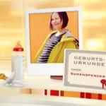 RTL Punkt12 mit Katja Burkard: Solomama durch Samenspende