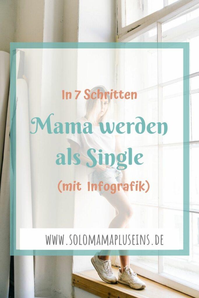 In 7 Schritten Mama werden als Single (mit Infografik)   www.solomamapluseins.de