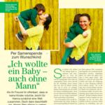 """""""Ich wollte ein Baby – auch ohne Mann"""". Artikel im LISA-Magazin"""